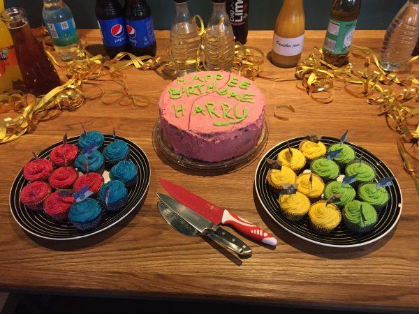 Von Marleen: Geburtstagskuchen und Muffins