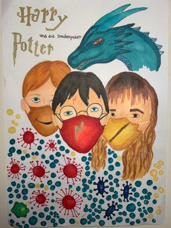 Von Marlene: Harry Potter und die Drachenpocken