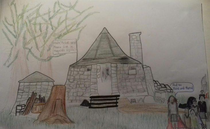 Von Hannah: Live-Show in Hagrids Hütte