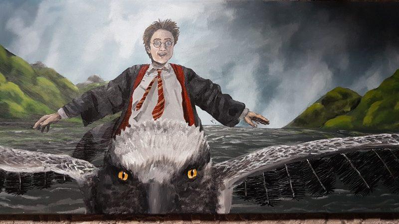 Harrys Flug auf Seidenschnabel von Amelie T.