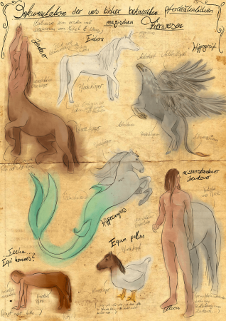 Pferdeähnliche magische Tierwesen von Elisa F.
