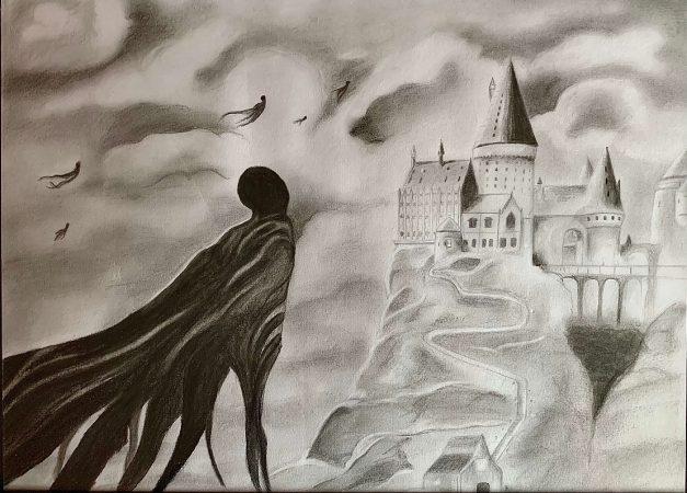 Dementoren-Hogwarts von Julia S.