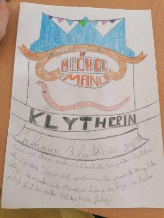 Klytherin Zeichnung von Matheo E.