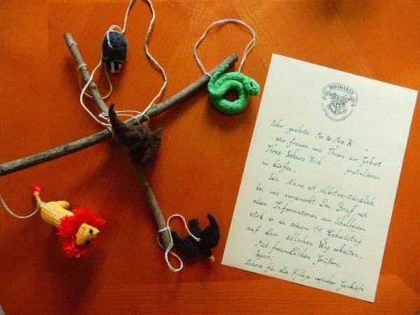 Brief aus Hogwarts & Mobilé von Sophia Q.