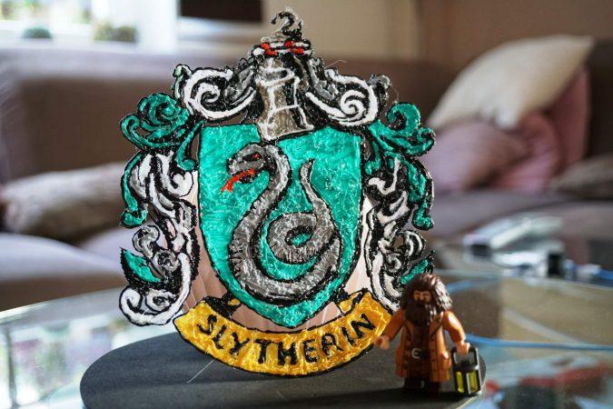 Von Jonas: 3D Slytherin Wappen