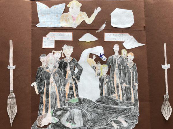 Von Frida: Klytherin Besenschrank